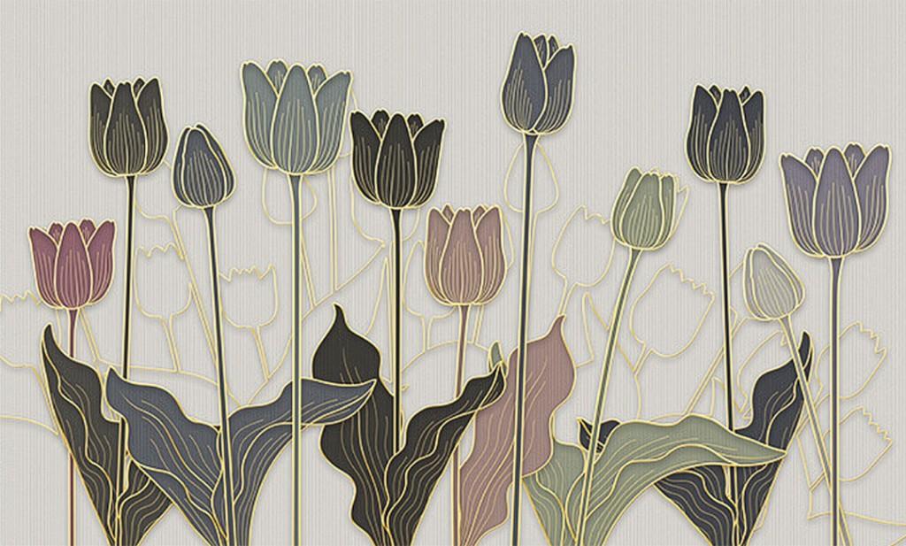 Фотообои Тюльпаны