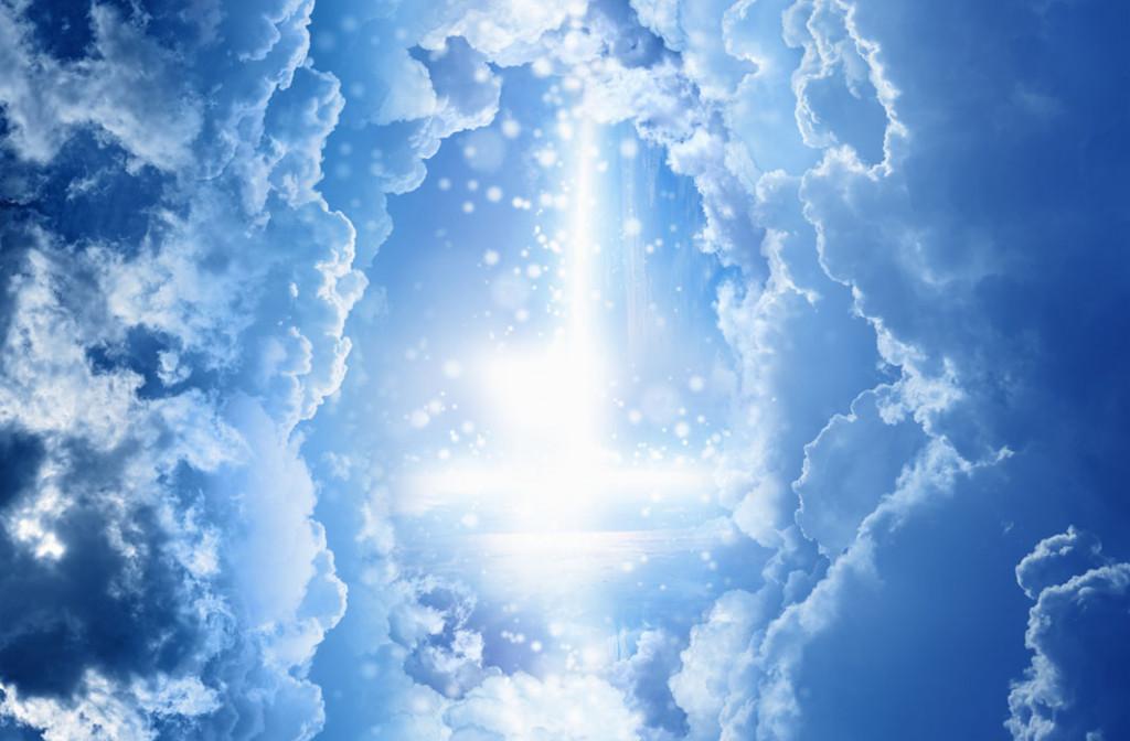 Фотообои Красивое небо на потолок