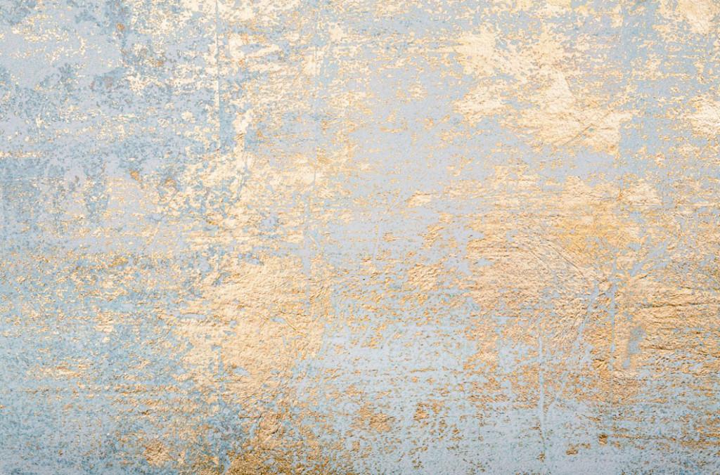 Фотообои Золотая стенка