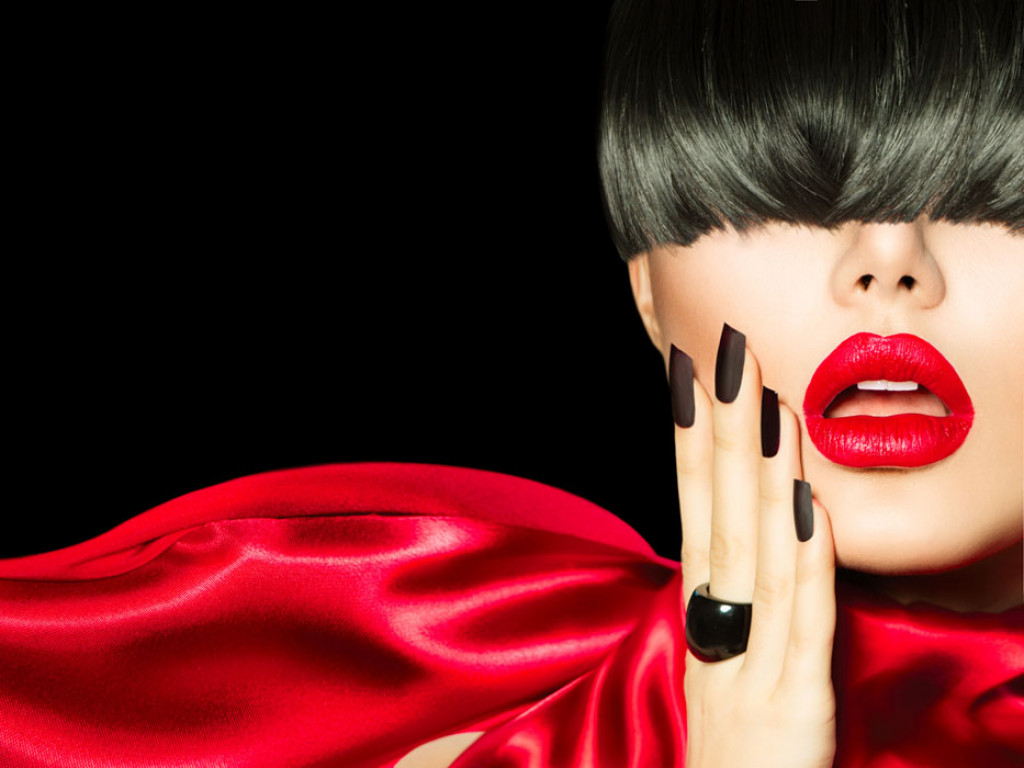 Фотообои Лицо девушки для салона красоты