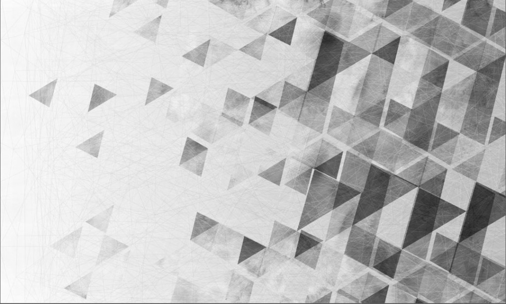 Фотообои Серые треугольники