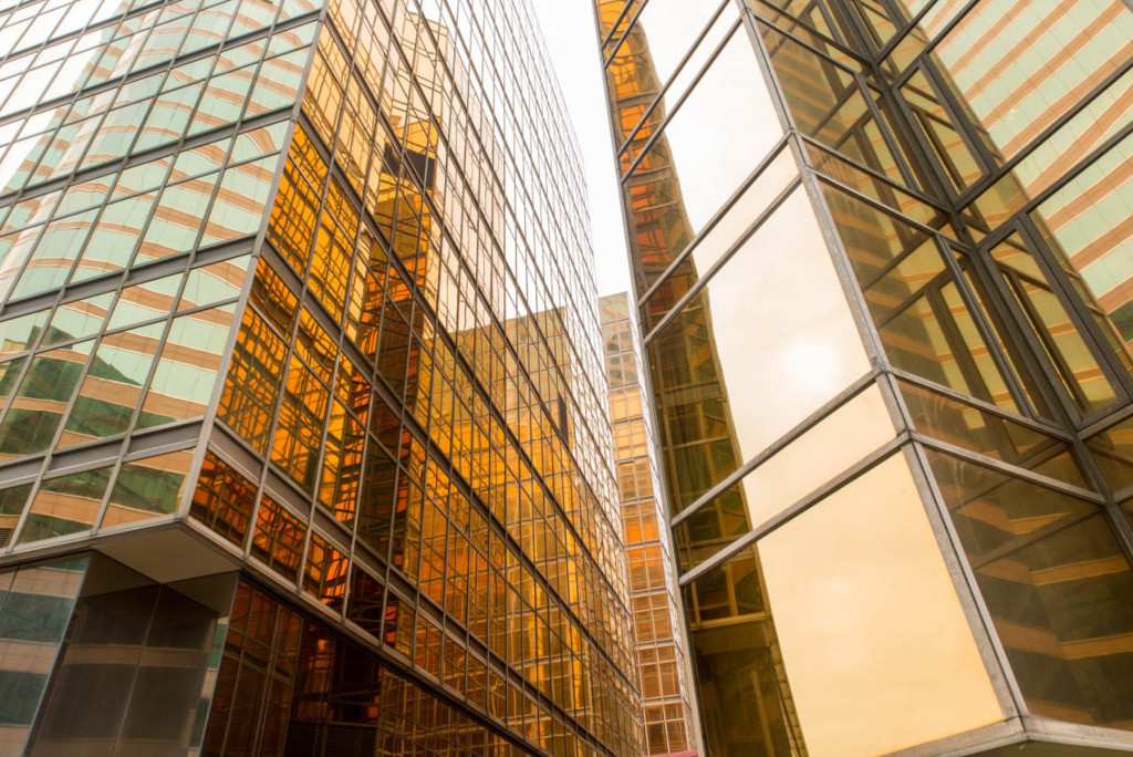 Фотообои бизнесс город