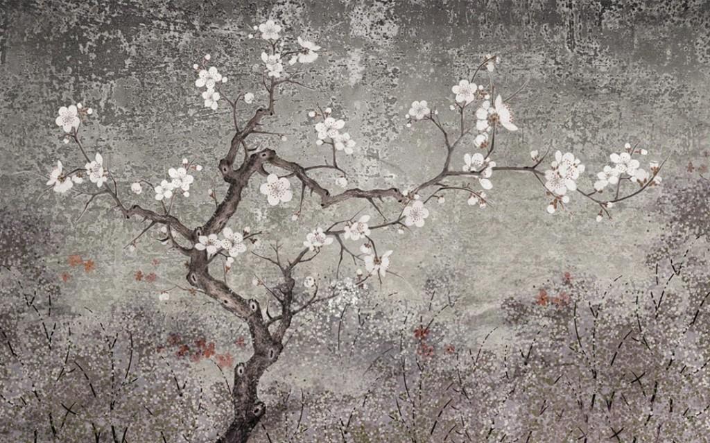 Фотообои  Цветущая ветка