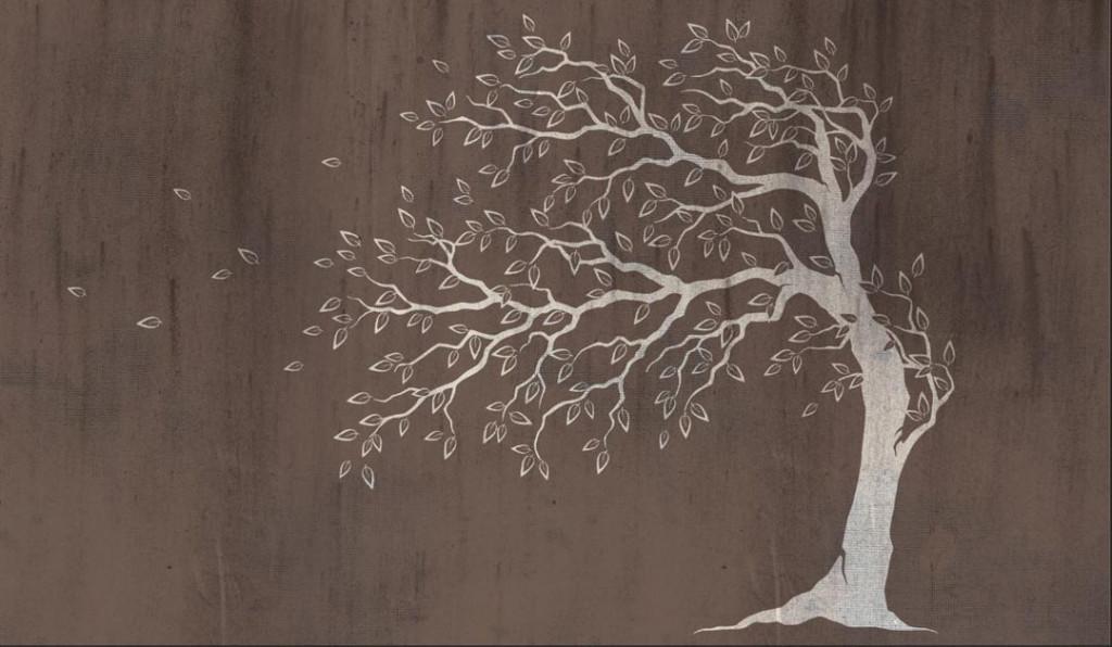 Фотообои Фреска с арт деревом