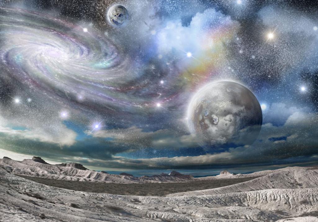 Фотообои Космические поверхности