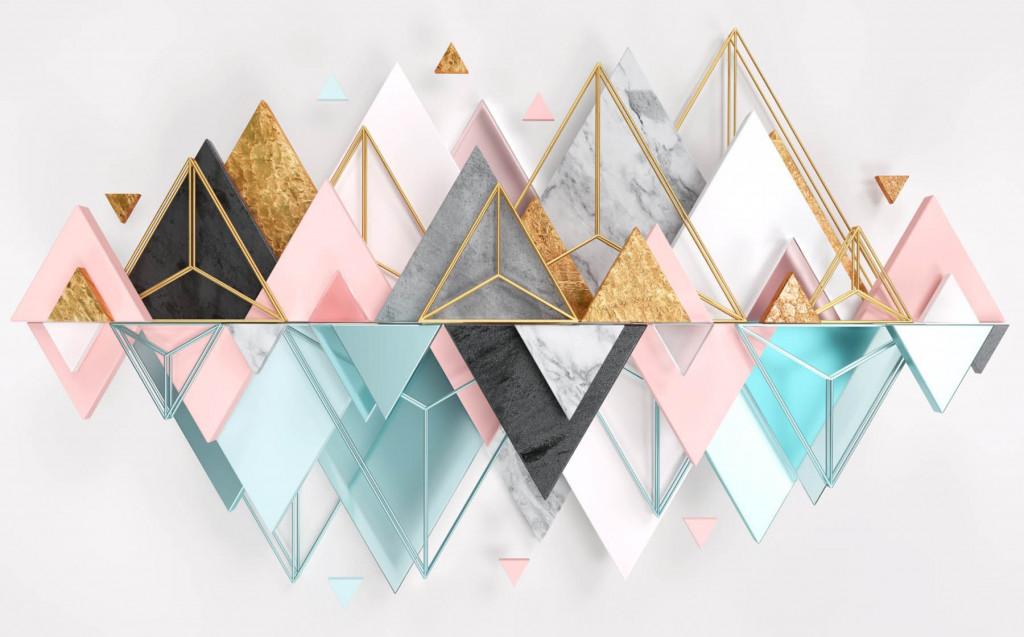 Фотообои горы, геометрия