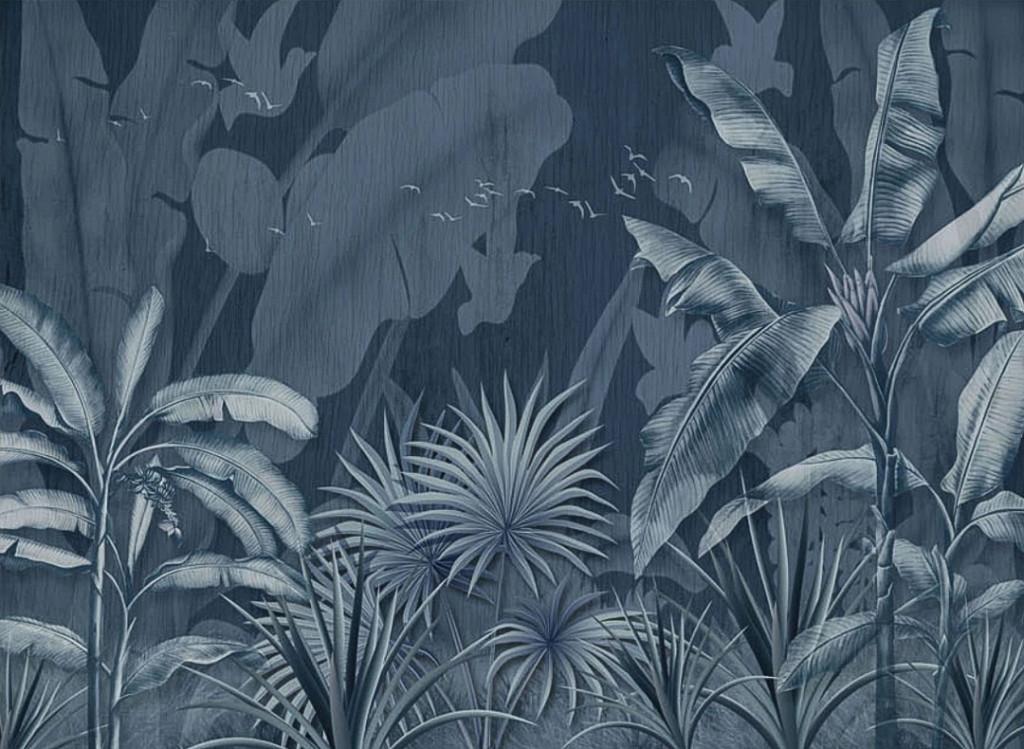 Фотообои Тропические листья с ефектом