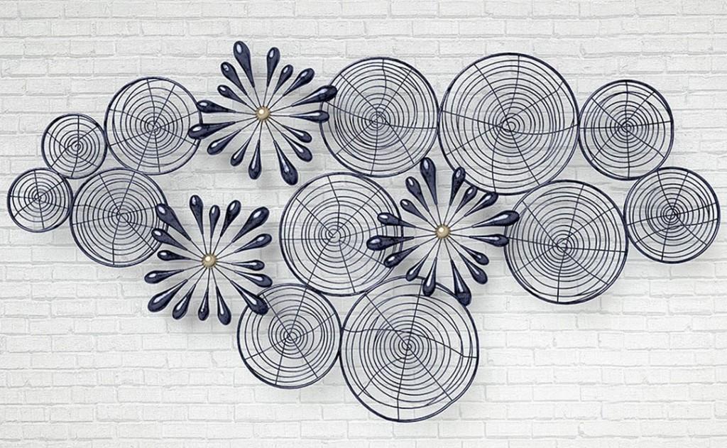 Фотообои Плетеные круги и цветы
