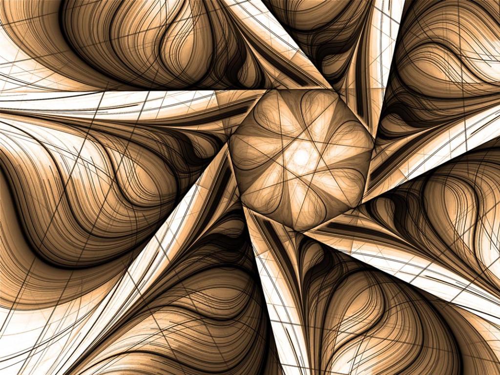Фотообои 3д Абстракция, геометрический рисунок