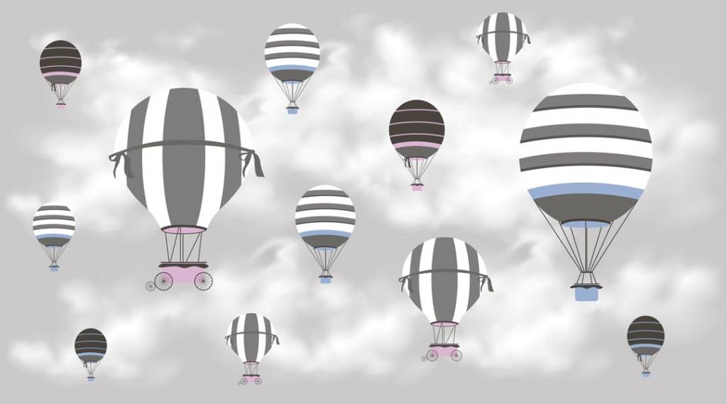 Фотообои Воздушые шары