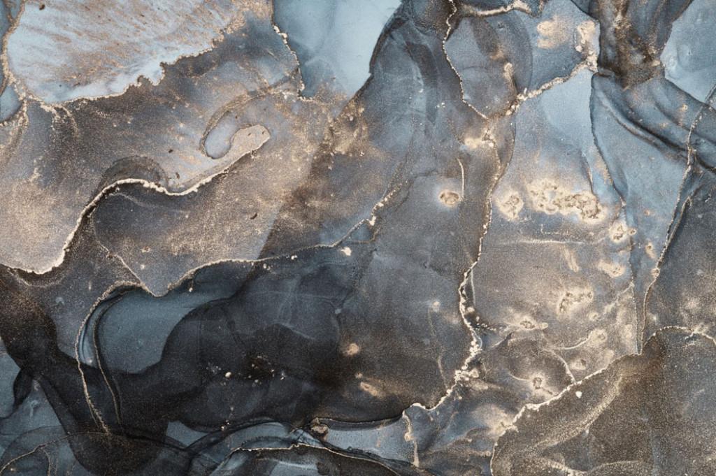 Фотообои Флюид Арт в темных тонах