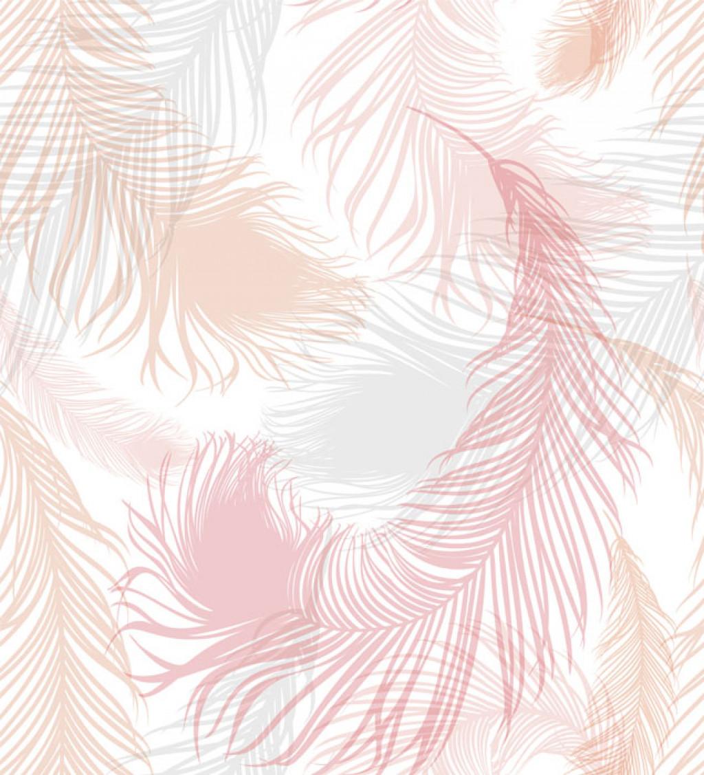 Фотообои фон с пастельных тонов перьев птиц