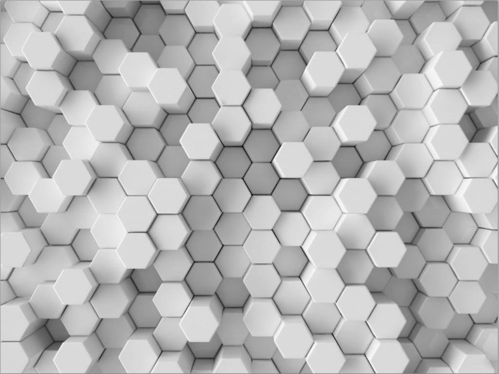 Фотообои шестигранники