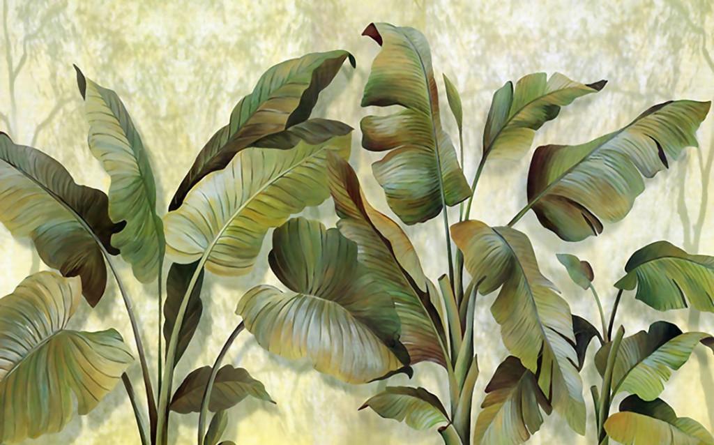 Фотообои Банановые листья