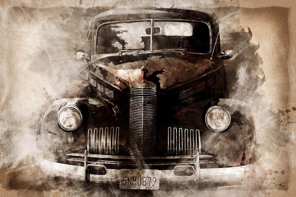Фотообои старинное авто