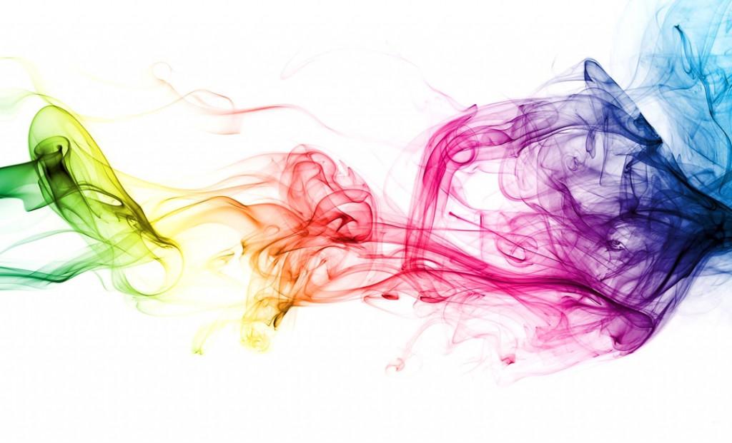 Фотообои Абстракция, цветной дым