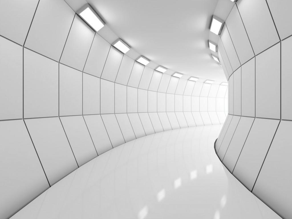 Фотообои Тоннель с освещением