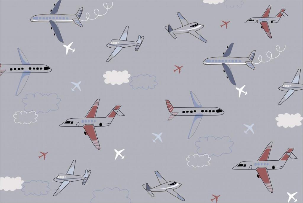 Фотообои Десткие самолеты
