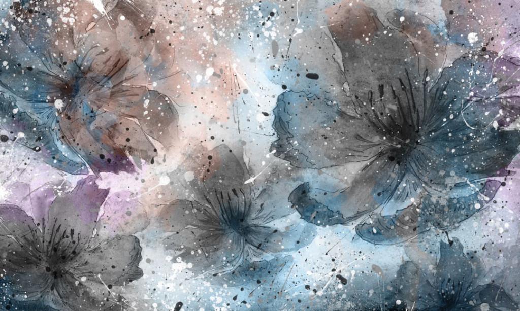 Фотообои Абстрактные цветы