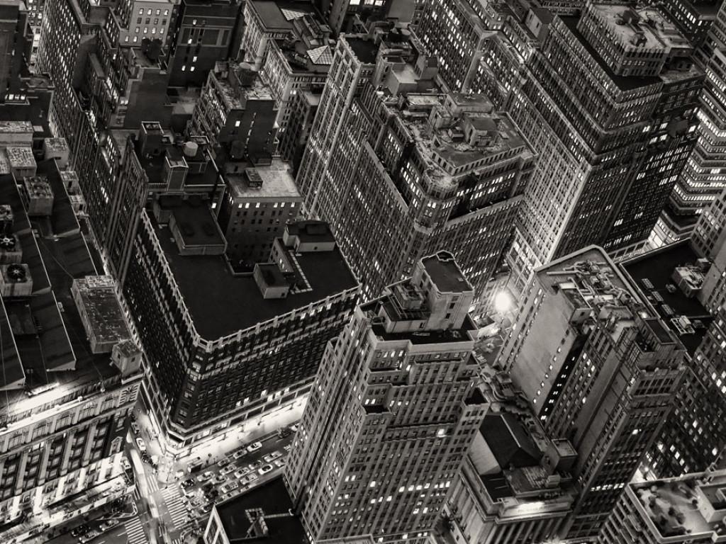 Фотообои  Город с высоты