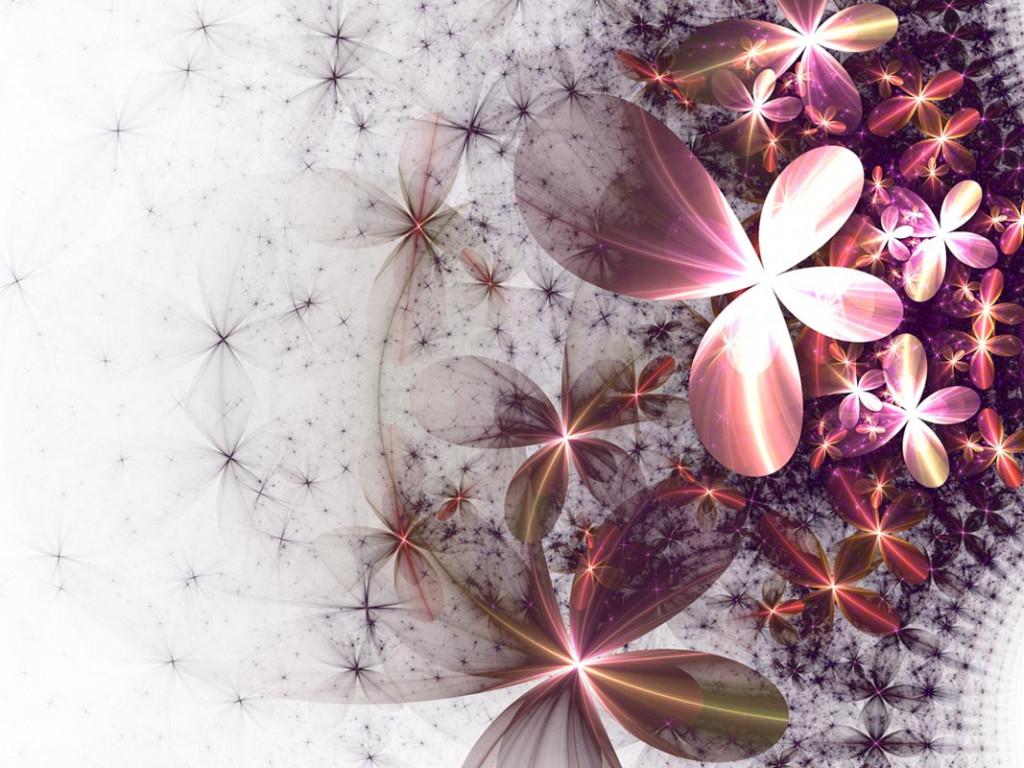 Фотообои Абстракция, лепестки цветов