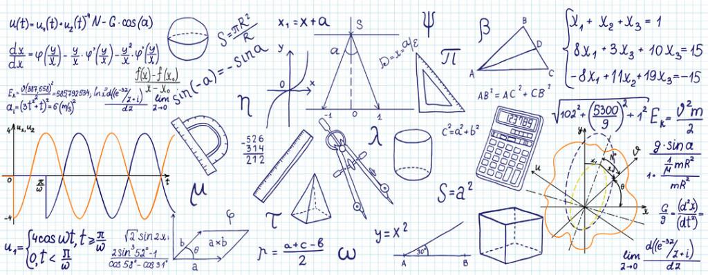 Фотообои Для кабинета геометрии