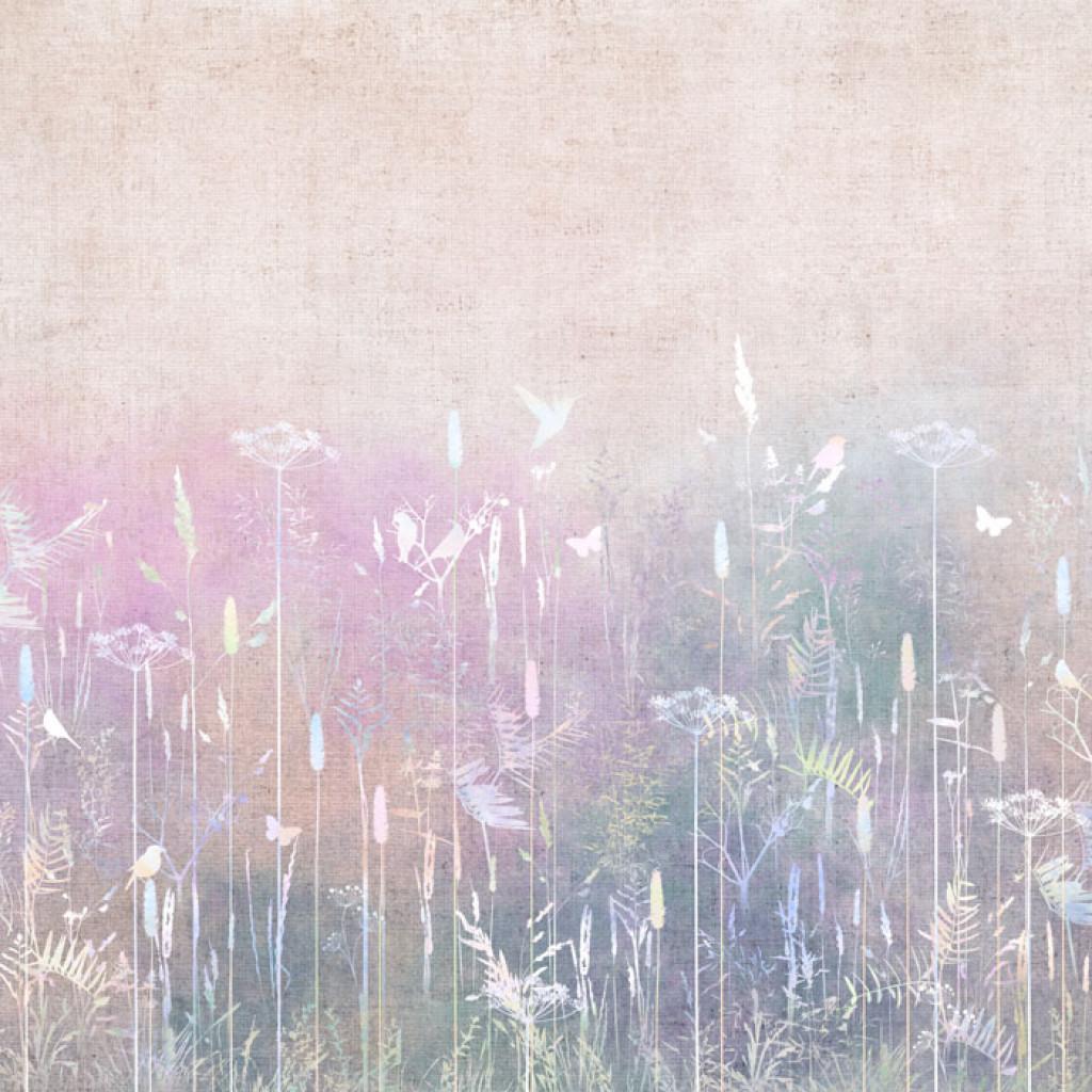 Фотообои Цветное поле