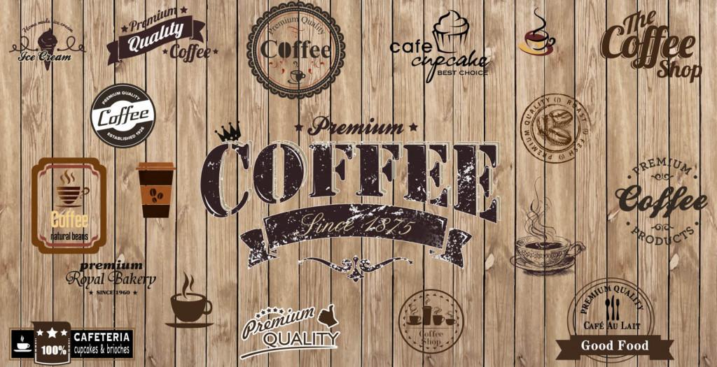 Фотообои кофе