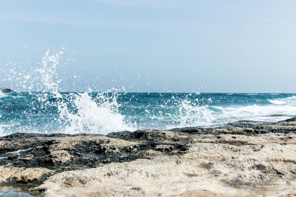 Фотообои брызги моря