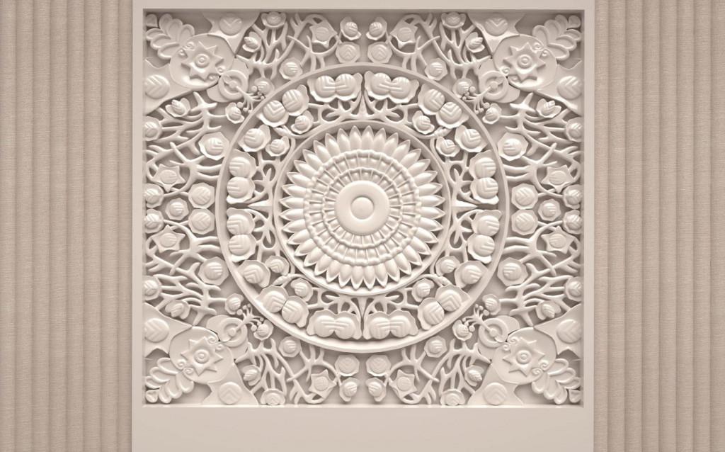 Фотообои узор на потолок