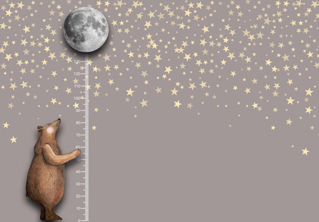 Фотообои Медвеженок с шариком