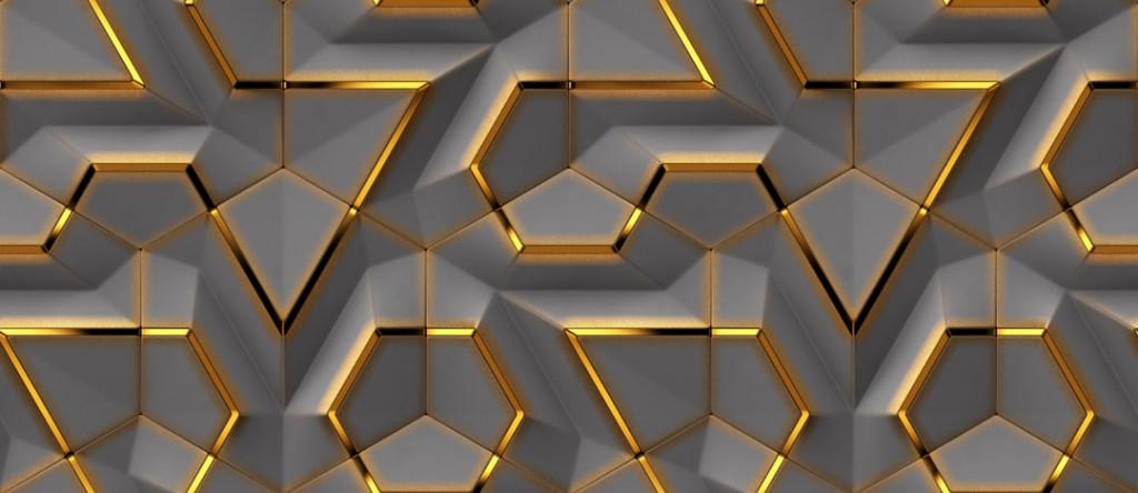 Фотообои 3д узор геометрия
