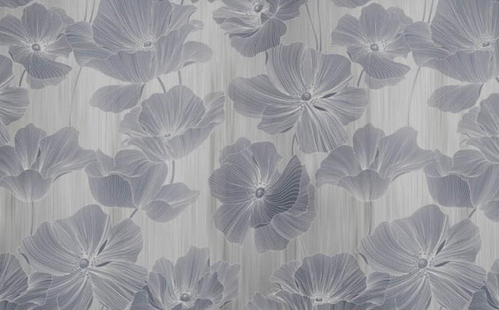 Фотообои Цветы в сепии