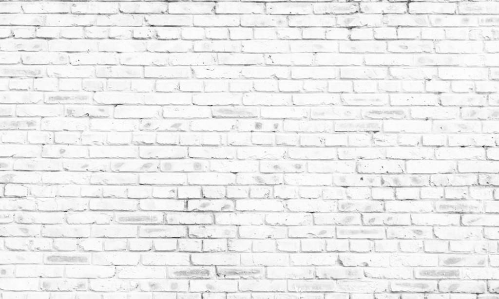 Фотообои Белая кирпичнач кладка