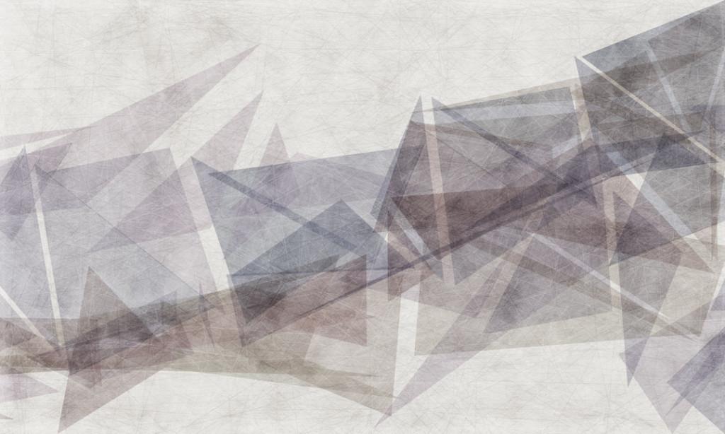 Фотообои Коричневые треугольники