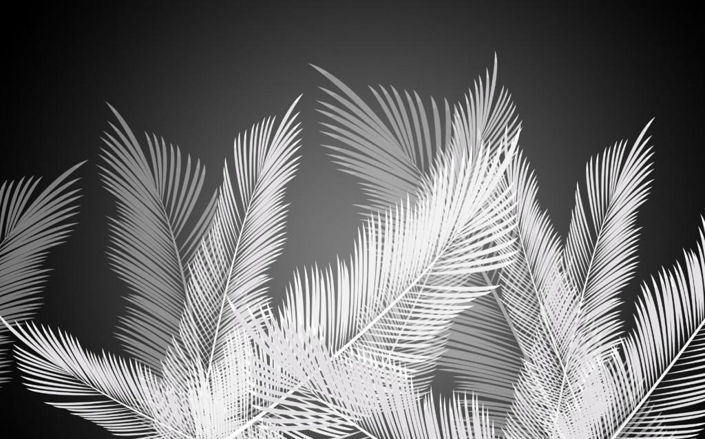 Фотообои листья