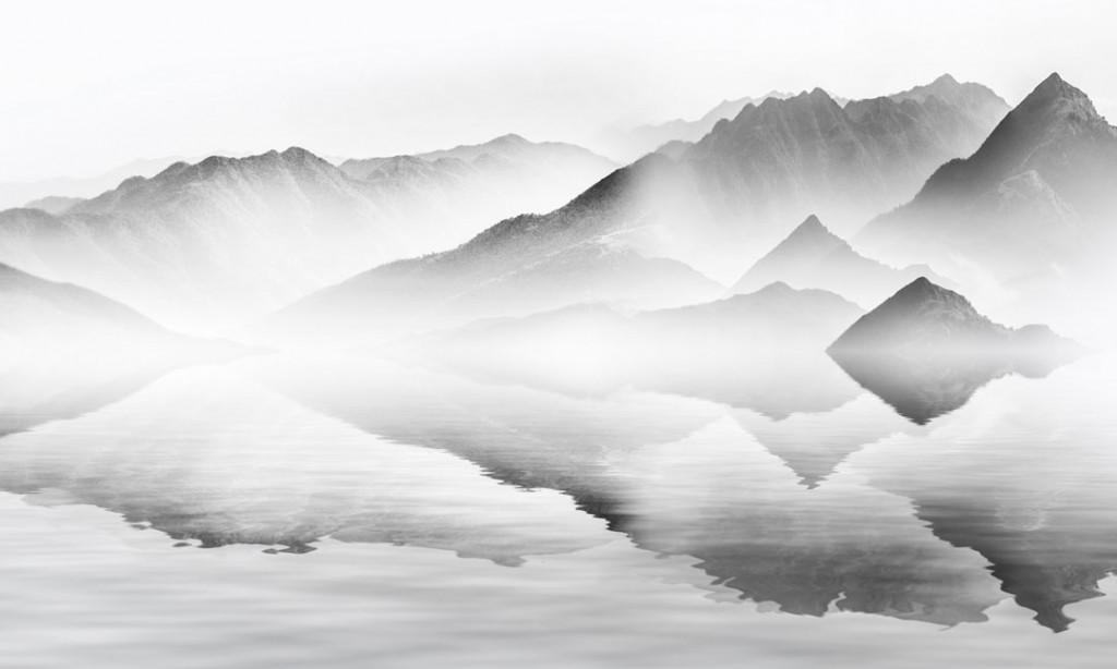 Фотообои Серые горы