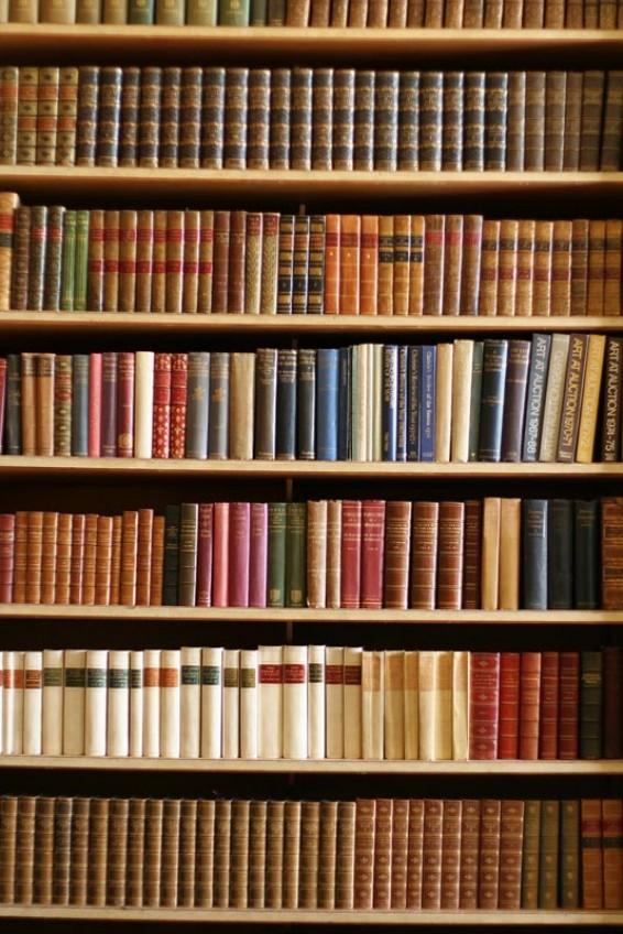 Фотообои Шкаф с книгами