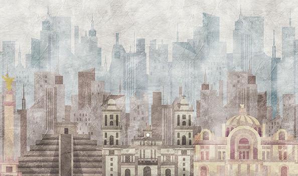 Фотообои Арт город