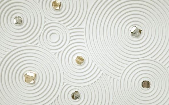 Фотообои Фотообои круги с камнями