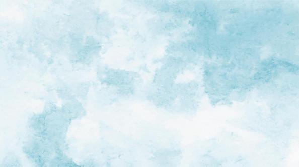 Фотообои Голубой акварельный фон