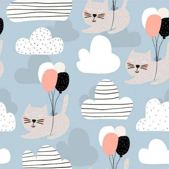 Фотообои Нарисованные кошки