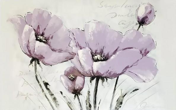 Фотообои Сиреневыми цветами