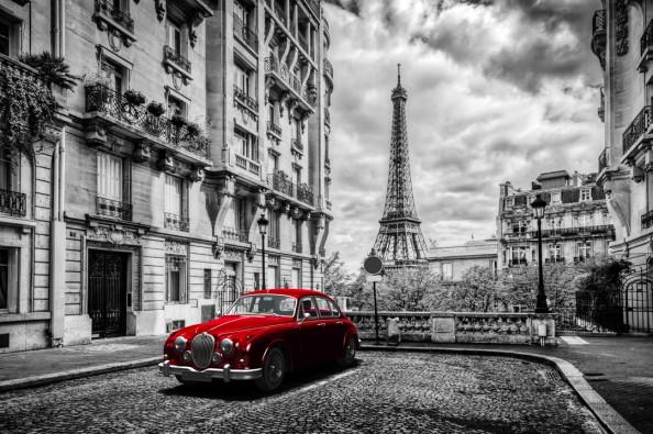 Фотообои Франция, Эйфелева башня
