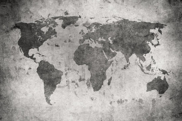 Фотообои Фон, карта мира