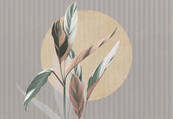Фотообои арт листья