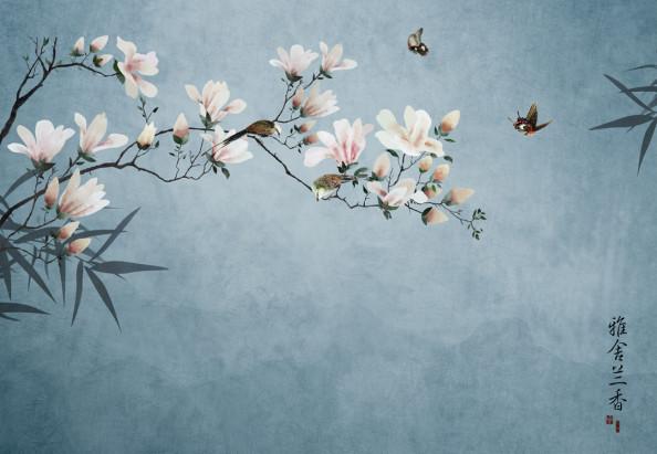 Фотообои Цветущая ветвь