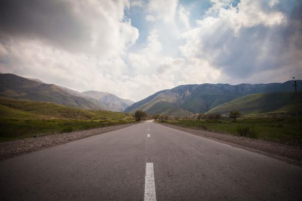 Фотообои Дорога расширяющая