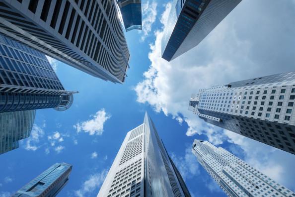 Фотообои Высотки, современный город