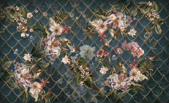 Фотообои Узор с цветами